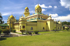 De Moskee van Alaeddin van de sultan, Maleisië stock afbeeldingen