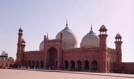 De Moskee van Badshahi stock fotografie