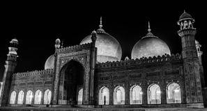 De Moskee van Badshahi, Lahore Royalty-vrije Stock Afbeelding