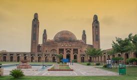 De moskee van de Bahriastad lahore Royalty-vrije Stock Afbeeldingen