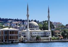 De moskee van Bosphorus Royalty-vrije Stock Foto's
