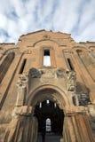 De Moskee van Carhedralfethiye in de oude stad van Ani, Kars, Turkije Royalty-vrije Stock Afbeelding
