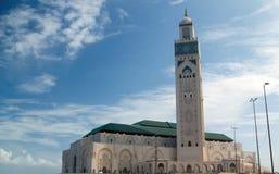 De moskee van Casablanca royalty-vrije stock foto's