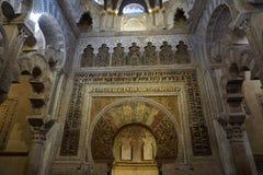 De Moskee van Cordoba royalty-vrije stock foto's