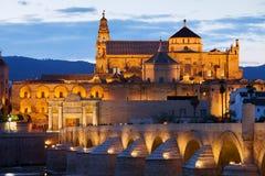 De Moskee van de kathedraal van Cordoba Stock Foto