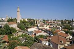 De Moskee van de Minaret van Yivli Stock Afbeelding