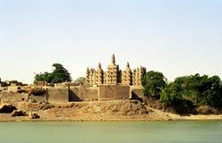 De moskee van de modder, Sirimou, Mali Royalty-vrije Stock Foto