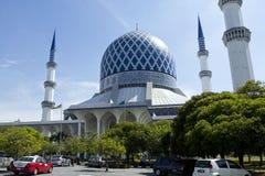 De Moskee van de Sjah van Salahuddin Abdul Aziz van de sultan Royalty-vrije Stock Fotografie