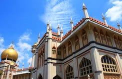 De Moskee van de sultan stock afbeeldingen