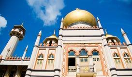 De Moskee van de sultan Royalty-vrije Stock Afbeeldingen