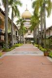 De Moskee van de sultan in Singapore Stock Afbeelding