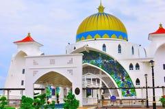 De Moskee van Detroit, Melaka Stock Afbeelding