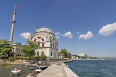 De moskee van Dolmabahce Royalty-vrije Stock Afbeelding