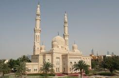 De Moskee van Doubai Stock Afbeeldingen