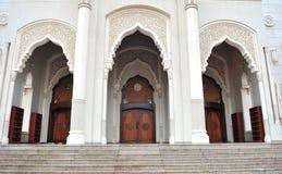 De Moskee van Doubai Royalty-vrije Stock Afbeelding