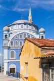 De moskee van Fatih Camii (Esrefpasa) in de stad van Izmir, Turkije Royalty-vrije Stock Afbeeldingen