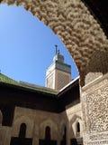 De moskee van Fez Stock Foto