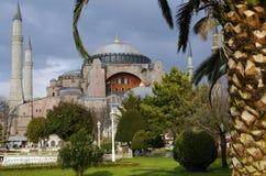De Moskee van Hagia van Sophia (Aya Sofia) Stock Afbeelding