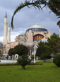 De Moskee van Hagia van Sophia (Aya Sofia) Royalty-vrije Stock Foto