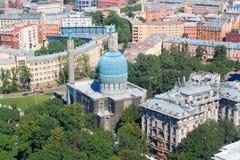 De Moskee van heilige Petersburg Stock Foto