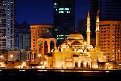 De moskee van het Midden-Oosten Stock Foto