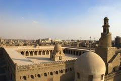 De moskee van Ibn Tulun Stock Fotografie
