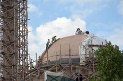 De Moskee van Ishakã elebi ‡, Bitola, Macedonië Stock Foto's