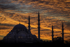 De moskee van Istanboel royalty-vrije stock afbeelding