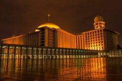 De Moskee van Istiqlal Royalty-vrije Stock Afbeelding