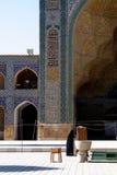 De Moskee van Jame in Esfahan, Iran Stock Foto's