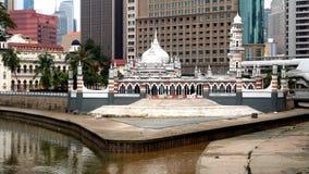 De Moskee van Jamek royalty-vrije stock fotografie