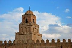 De moskee van Kairouan Stock Foto's