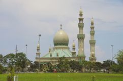 De Moskee van kg Mumong, Kuala Belait. Royalty-vrije Stock Afbeelding