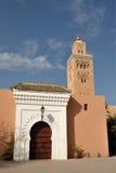 De Moskee van Koutoubia in Marrakech Stock Foto