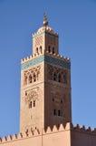 De Moskee van Koutoubia in Marrakech royalty-vrije stock foto's