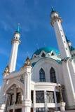 De moskee van Kul sharif in kazan Rusland stock afbeelding