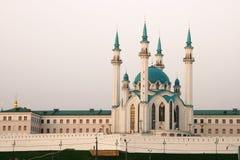 De moskee van Kul Sharif. Kazan, Rusland. Stock Afbeeldingen
