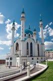 De moskee van Kul Sharif, Kazan, Rusland Stock Foto's