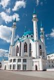 De moskee van Kul Sharif, Kazan, Rusland Royalty-vrije Stock Foto