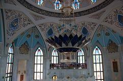 De moskee van Kul Sharif, Kazan, Rusland Stock Afbeeldingen
