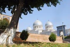 De Moskee van meningsdzhuma in Tashkent Stock Foto's