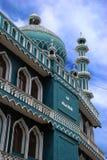De Moskee van moslims Stock Foto