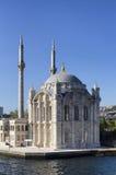 De moskee van Ortakoy stock foto