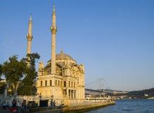 De Moskee van Ortokoy Stock Foto's