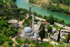 De moskee van Pocitelj Stock Foto's