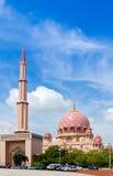 De Moskee van Putra Royalty-vrije Stock Afbeeldingen