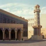 De moskee van Qatar stock afbeelding