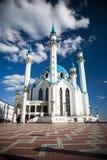 De Moskee van Qolsharif in Kazan het Kremlin, Rusland Royalty-vrije Stock Afbeeldingen