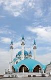 De Moskee van Qolsharif. Rusland, Tatarstan, Kazan Royalty-vrije Stock Afbeeldingen