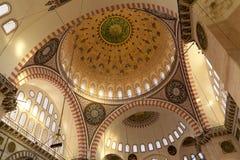 De Moskee van Süleymaniye royalty-vrije stock afbeeldingen